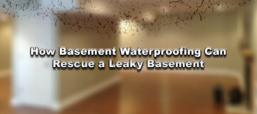 How Basement Waterproofing Can Rescue a Leaky Basement
