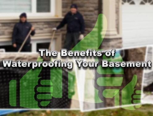 The benefits of waterproofing your basement