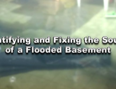 Identifying and Fixing the Source of a Flooded Basement