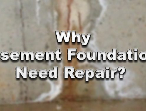 Why Basement Foundations Need Repair?