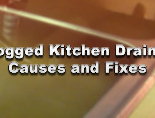 Clogged Kitchen Drains - Causes and Fixes