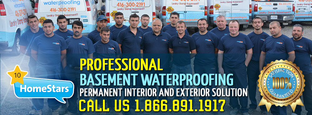 Aquatech Waterproofing Services - Leaky Damp Basement?