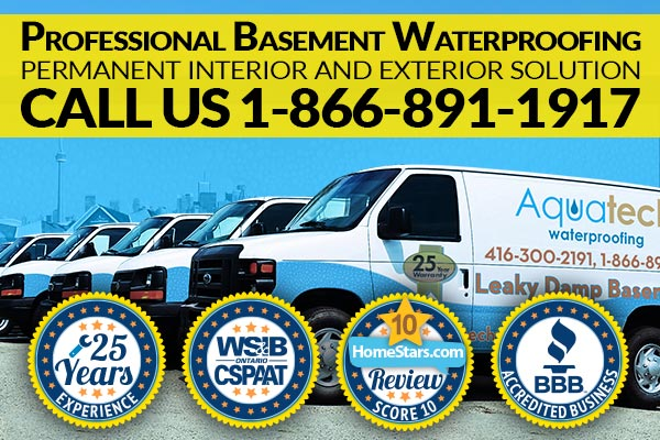 Professional Basement Waterproofing