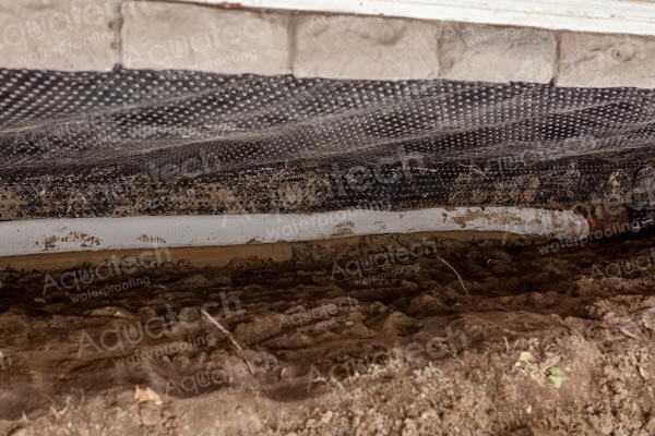 aquatech-waterproofing-new-weeping-tile-applying