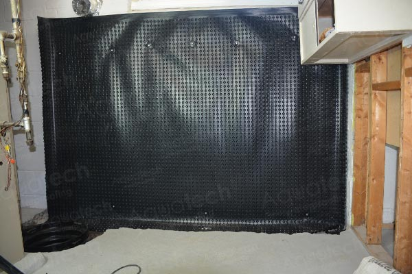 aquatech-waterproofing-platon-membrane-and-sump-pump-applying