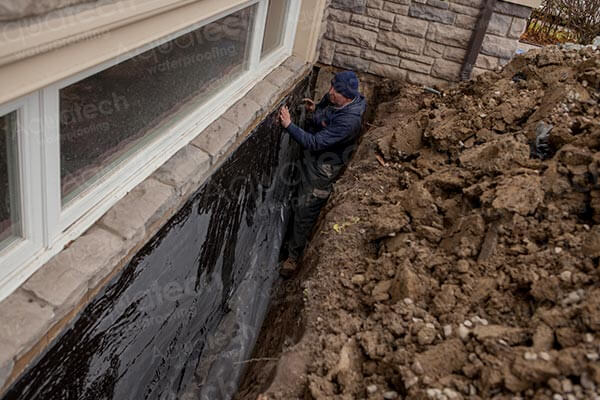 Exterior Waterproofing 416 300 2191 Aquatech Waterproofing