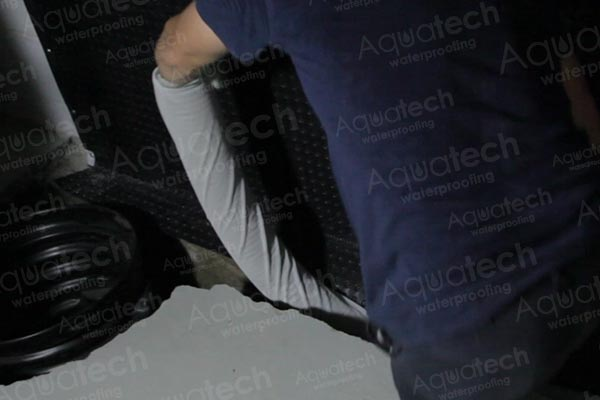 aquatech-waterproofing-weeping-tile-installation