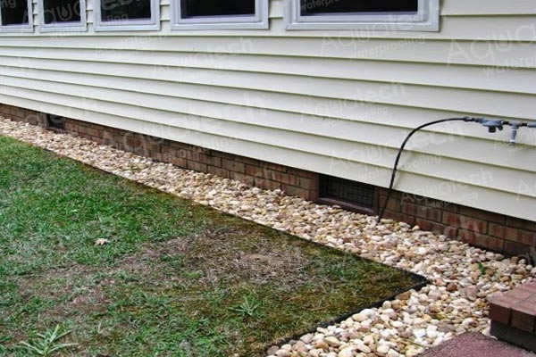 Repair tips aquatech waterproofing for Fixing drainage issues around house
