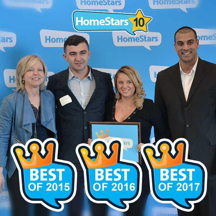 aquatech waterproofing best of 2017 homestars award