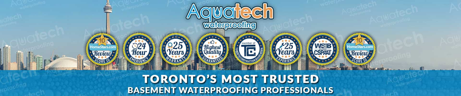 torontos most trusted basement waterproofing professionals