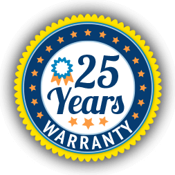 25 Years Warranty Basement Waterproofing